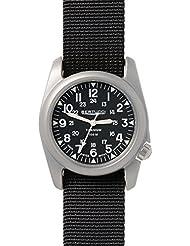Bertucci A-2T Vintage Watch Black - Black Nylon - w/ Sapphire