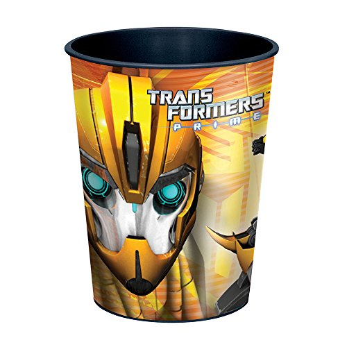 16oz Transformers Plastic Cups, 12ct