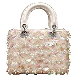 Flowered And Beaded Handbags