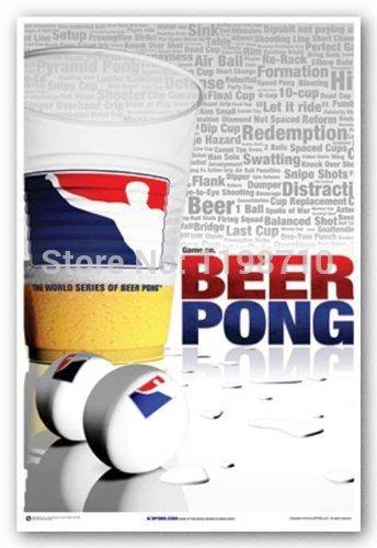 "Da Bang Beer Pong World Cup poster art print 20X30 """