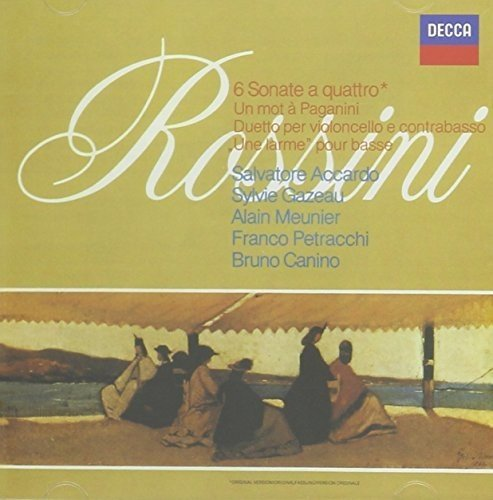 Rossini: 6 Sonate A Quattro / Duetto Per Violoncel