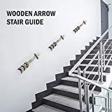 YoleShy Wooden Arrow Wall Decor, 3 Pack Wood