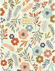 """2021 Monthly Planner: 2021 see it bigger Square planner 