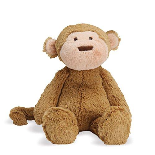 Manhattan Toy Lovelies Mocha Monkey Stuffed Animal, 12