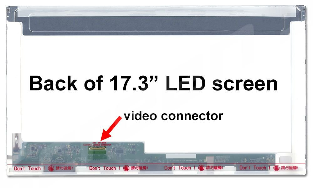 Glossy N173FGE-E23 REV.C1 C2 C3 New Replacement LCD Screen for Laptop LED HD