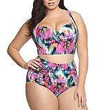 Summer Swimsuit Women's Swimwear Two Piece Swimdress Swim Bathing Suit Plus size