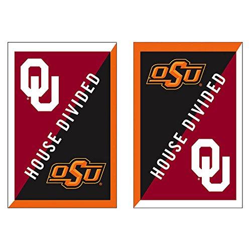 OU Osu House Divided Flag
