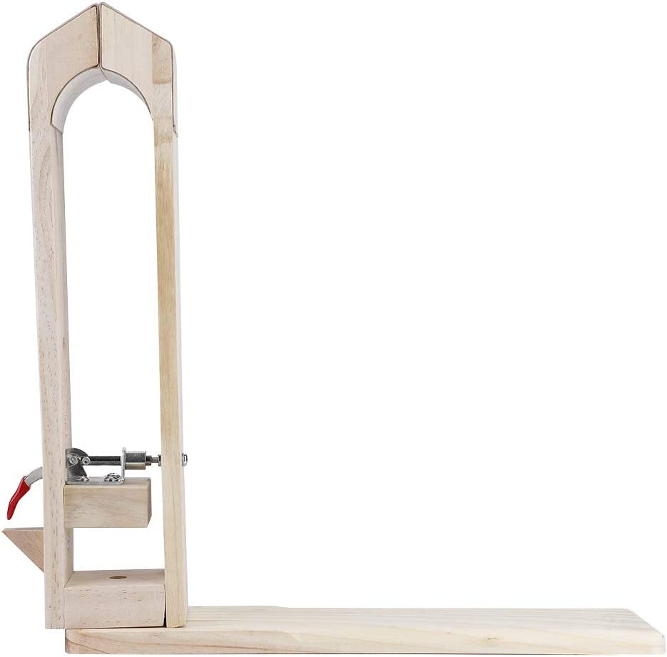 Herramienta de escritorio de abrazadera de cuero, clip de retención de costura de escritorio de cuero de madera, herramientas fijas de artesanía de cuero para tratamientos de costura DIY
