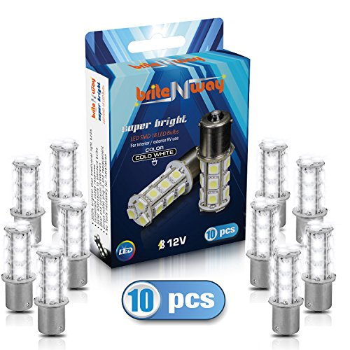 1156 7506 1003 1141 BA15S 18 smd 5050 LED Car Lights Bulbs ...