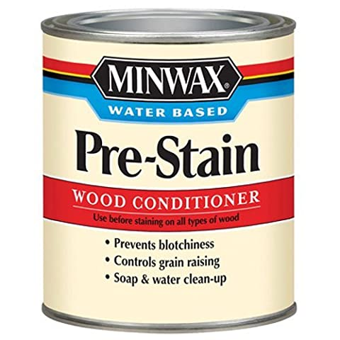Minwax 618514444 Water-Based Pre- Stain Wood Conditioner, quart (Pre Stain Conditioner)