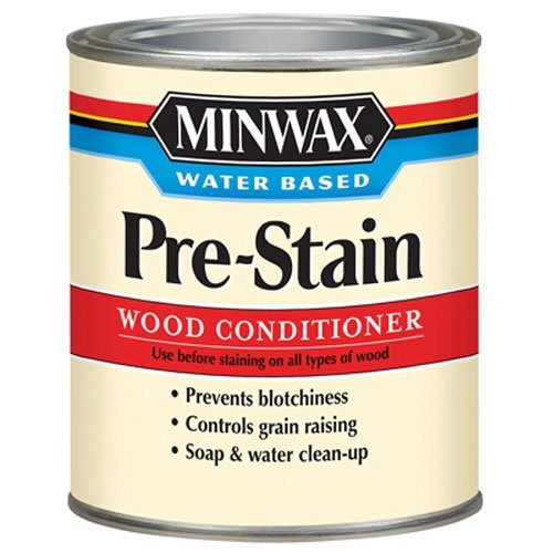Minwax 618514444 Water-Based Pre- Stain Wood Conditioner, (Water Based Wood Stain)