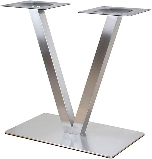 AFDK 1X Patas de mesa cruzada Mesa de acero industrial en forma de ...