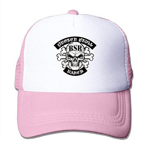 Baseball Skull Gorras Mesh NDJHEH Hat Broken Cap Ranch béisbol Trucker q8xdwt7Pw