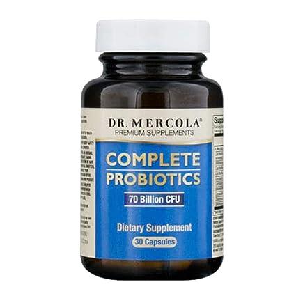 Dr Mercola Complete Probiotics (60 Capsules)