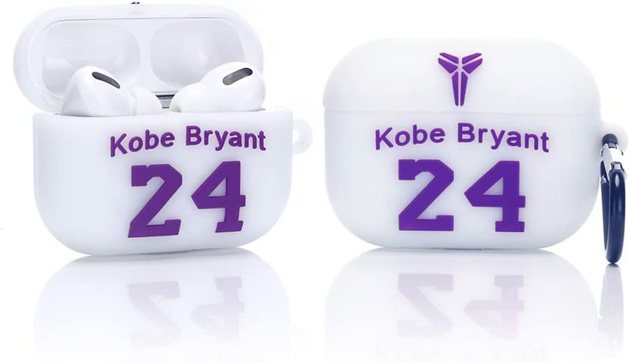 Designed for Fans Girls and Boys LKDEPO Airpods Pro Case Protective Silcone Cover Skin with Basketball Shirt Number Funny Cute Skin Cool Air pods Pro Design Covers Compatible for Airpods 3