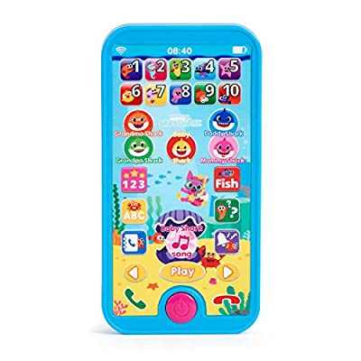 WowWee Pinkfong Baby Shark Smartphone - Educational Preschool Toy: Toys & Games