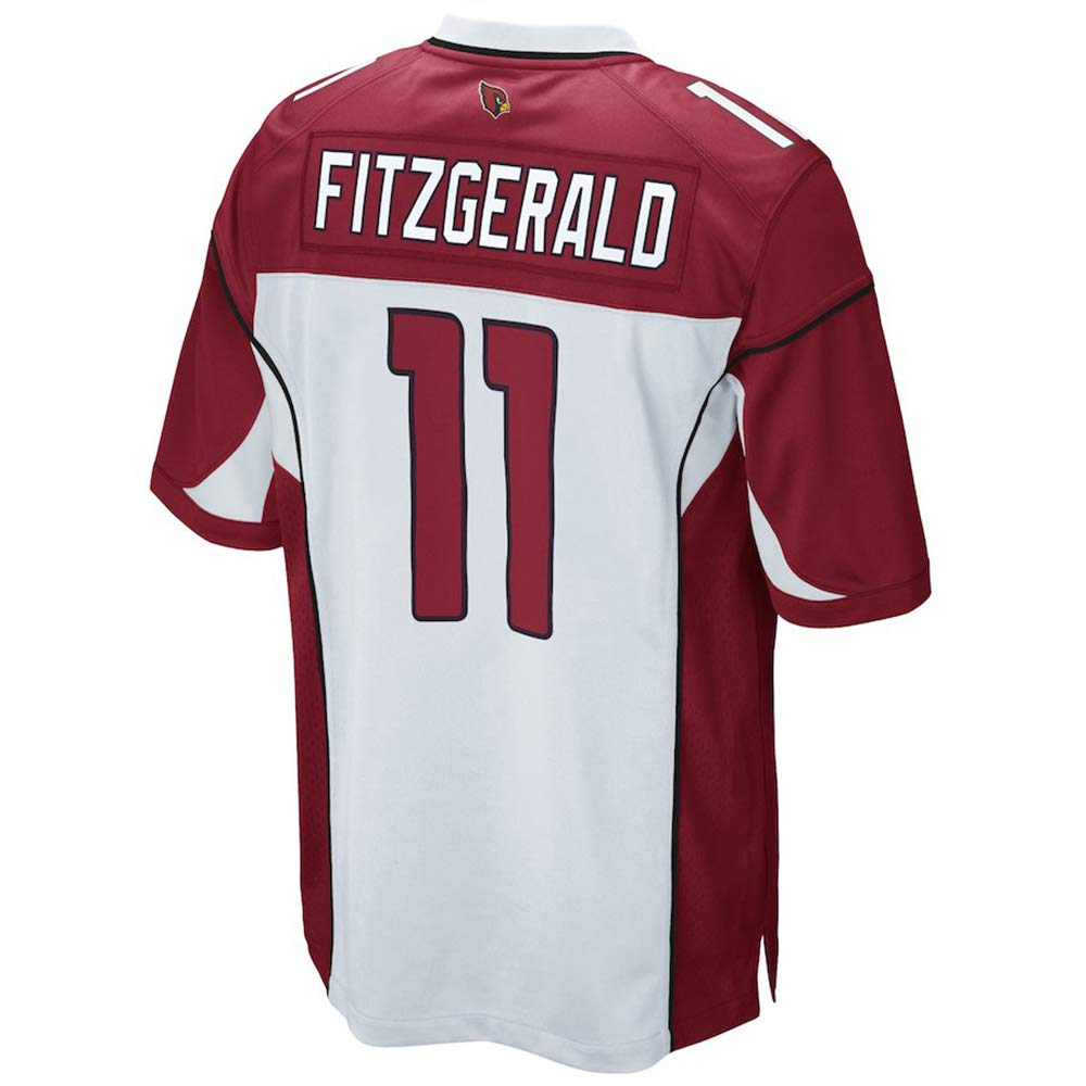 TOU DLE Men's Women's Youth_Larry_Fitzgerald_White_Game_Jersey