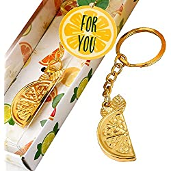 137 Citrus Key Chains