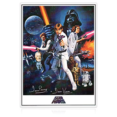 Darth Vader Signed Star Wars Poster | Autographed Movie Memorabilia
