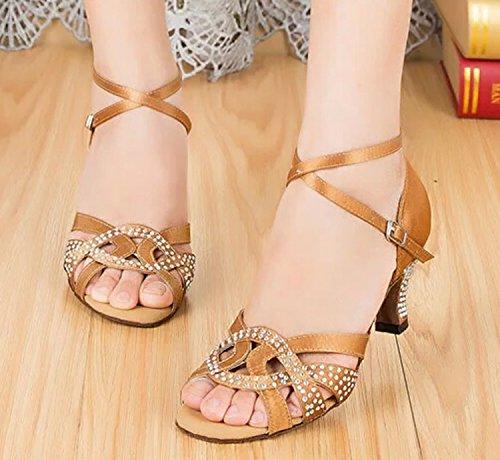 Miyoopark , Salle de bal femme - marron - Brown-6cm heel, 35