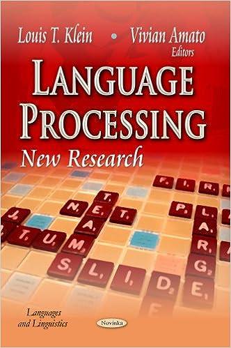LANGUAGE PROCESSING (Languages and Linguistics)