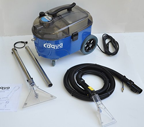 Portable Carpet Cleaning Machine, Lightweight and Quiet Carpet Spotter and Extractor ideal for Auto Detailing, Hotels, Offices and Residential Homes - Aqua Pro Vac