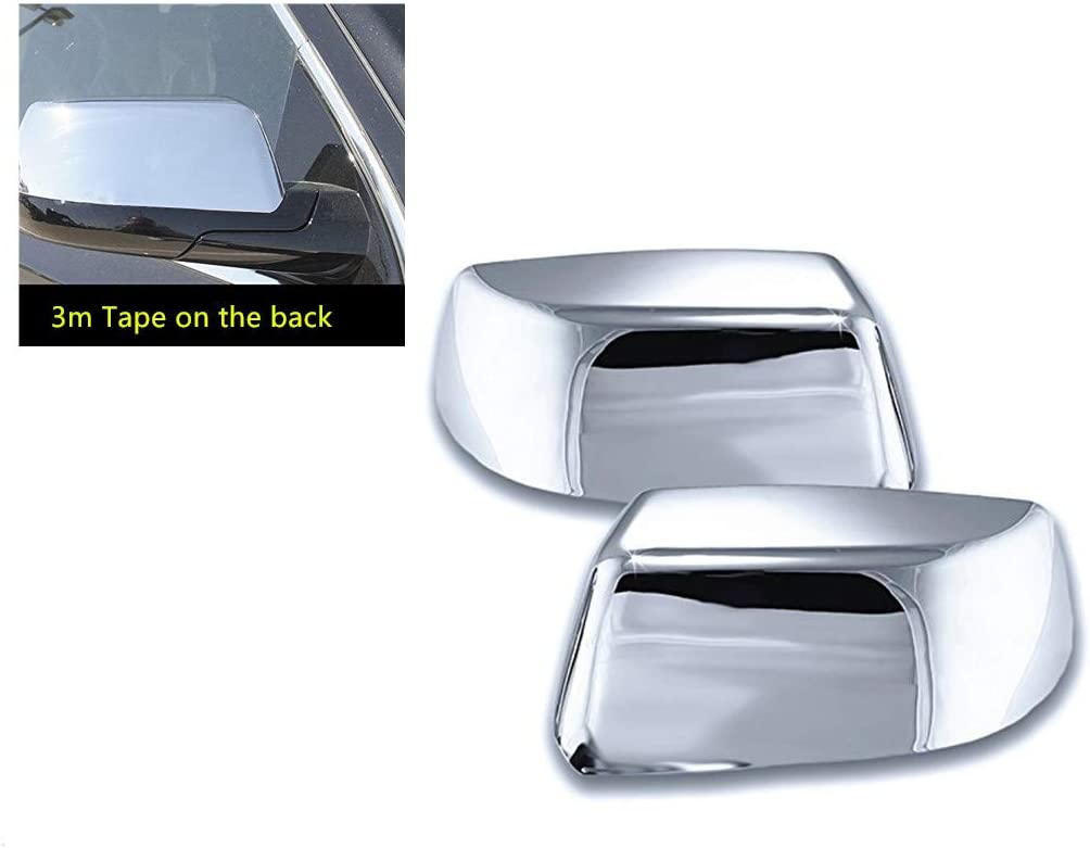 S SIZVER Triple Chrome Plated Upper Rear Latch Tailgate Trim Cover Compatible with Tahoe//Suburban