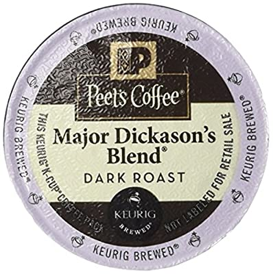 Peet's Coffee Dark Roast K-Cup, 96 Count