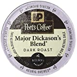 Peet's Coffee Major Dickasons Single Cup Capsule, 96-Count (6 boxes of 16 count each)