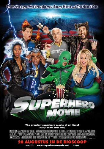Superhero Movie Movie Poster 2008 Style B - Leslie Nielsen Pamela Anderson Christopher McDonald
