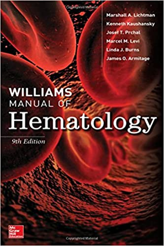williams hematology 8th edition pdf free download williams