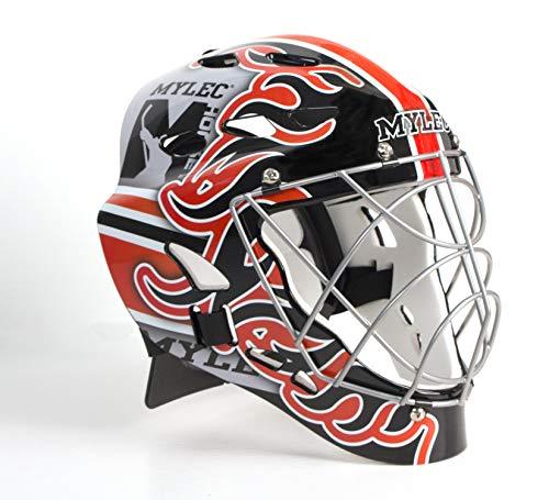(Mylec MK3 Goalie Mask (Flame))