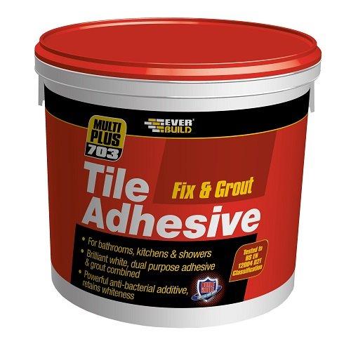 Everbuild FIX02 - Adhesivo para baldosas (2,5 L, 3,75 kg) Toolbank EVEFIX02