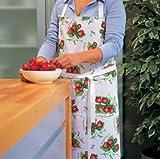 Portmeirion Strawberry Fair Cotton Drill Apron