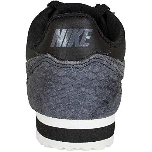 Nike Classic Cortez Premium Vrouwen Tennisschoen Zwart / Zeil
