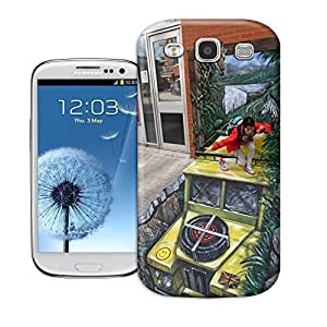 Haoyucase samsung galaxy s3 case A beautiful experience 3D Art pattern good quality elegant samsung galaxy s3 protection shell