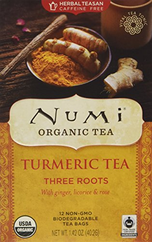 Numi Organic Turmeric Three Roots