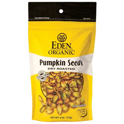 4 Savers Package:Eden Foods Pumpkin Seeds (15x4 Oz) by Eden