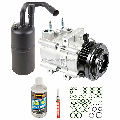 New Genuine OEM AC Compressor & Clutch + A/C Repair Kit For Ford Lincoln Merc - BuyAutoParts 60-83636RN New ()