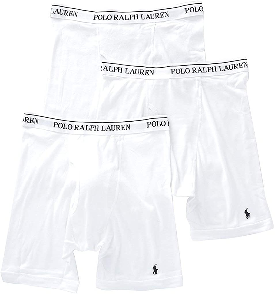 Polo Ralph Lauren Men S Classic Fit W Wicking 3 Pack Long Leg Boxer Briefs Amazon Co Uk Clothing