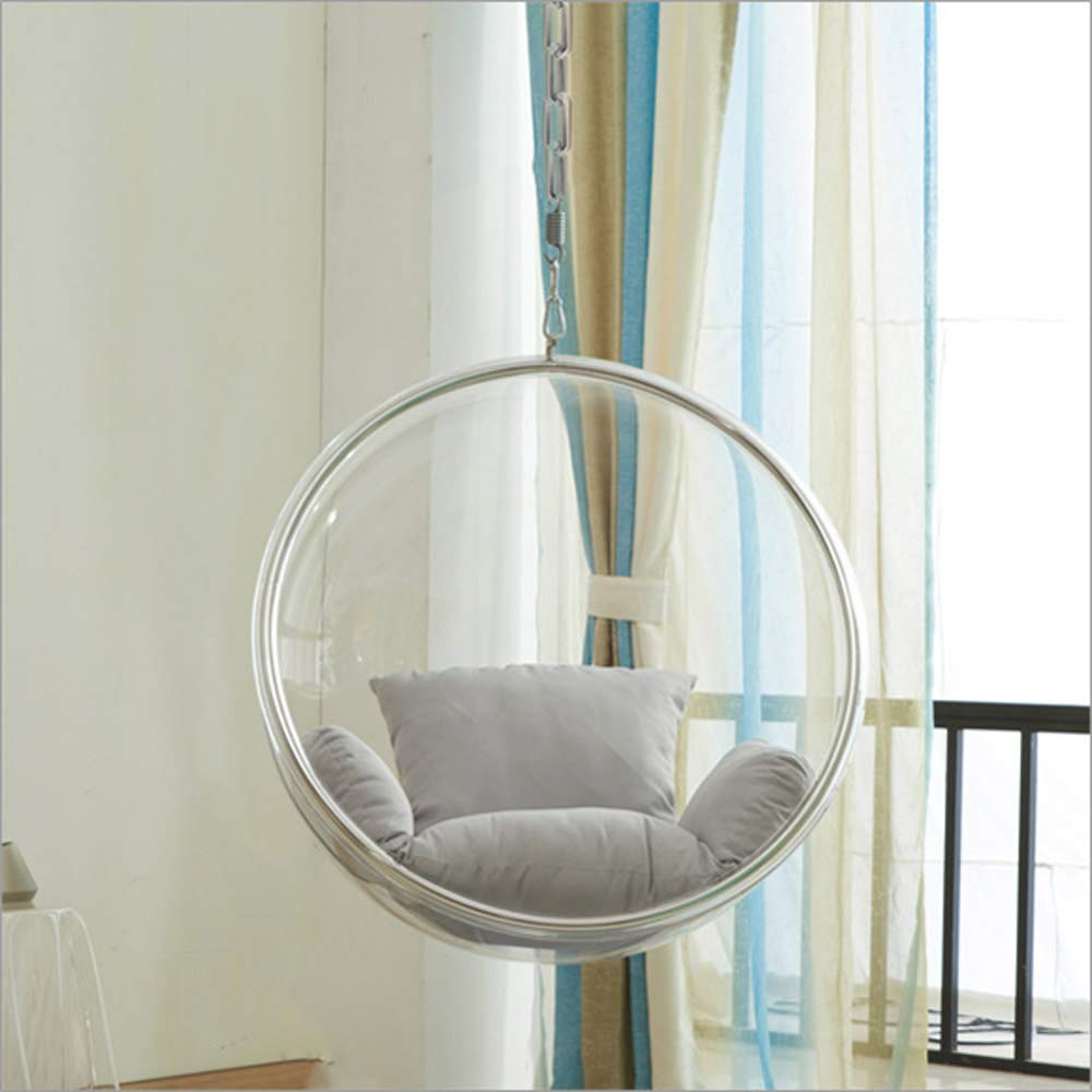 SMGPYHWYP Transparent Acrylic Indoor Glass Ball Chair, Space Chair