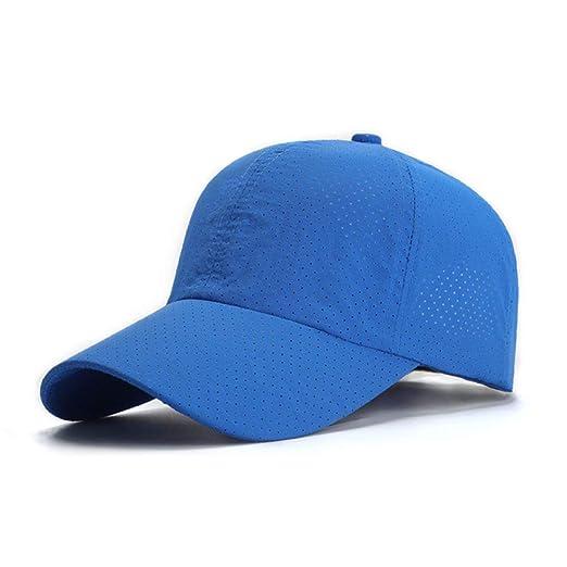 woyaochudan Sombrero de Verano Protector Solar para Hombres de ...