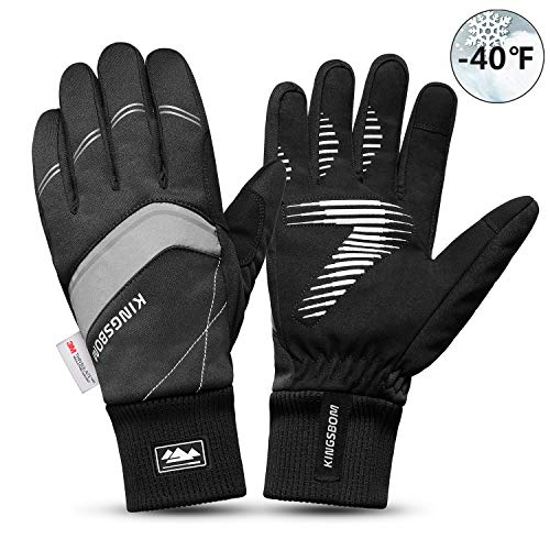 KINGSBOM Waterproof Warm Gloves