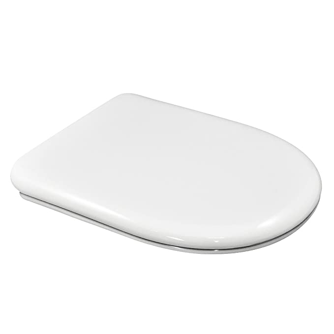 Fabulous Wc Toilet Seat Compatible Du Shape Round Front Adjustable Removable Hinge Easy Clean Easy To Install Very Resistant 43 X 36 X 5 Cm Evergreenethics Interior Chair Design Evergreenethicsorg