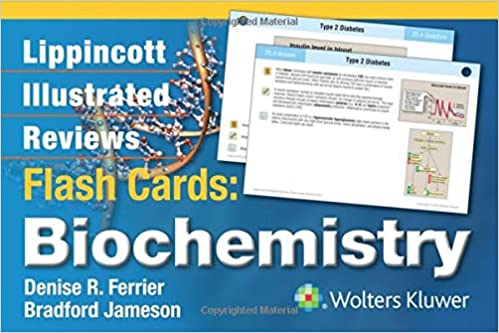 Kết quả hình ảnh cho Lippincott Illustrated Reviews Flash Cards - Biochemistry