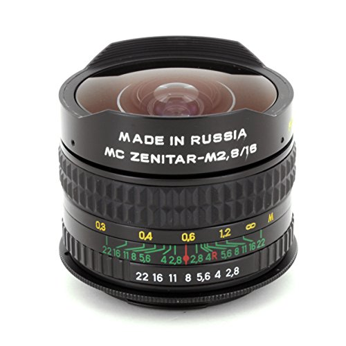 Fisheye Zenitar 2.8/16 MC Lens for Pentax K SLR DSLR Cameras