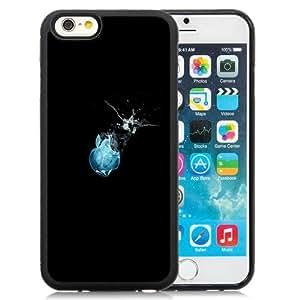 Beautiful Custom Designed Cover Case For iPhone 6 4.7 Inch TPU With Glass Apple Logo In Water Phone Case WANGJING JINDA