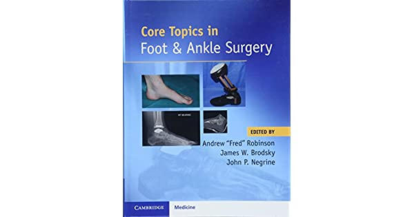 core topics in foot and ankle surgery livros na amazon brasil