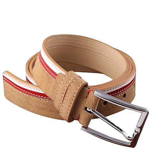 - SED Men Belts Youth Needle Buckle Casual Fight Color Fashion Boy Men's Atmospheric Fashion Ornaments Waist Belt,A,110Cm