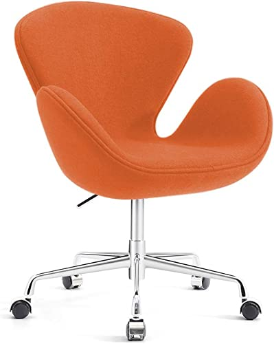 Classic Swan Chair Swivel Height Adjustable Lounge Chair